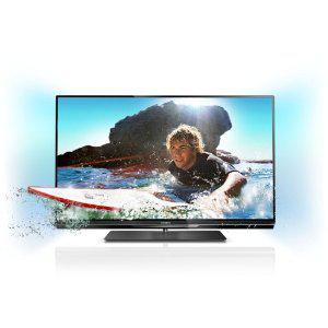 """Télévision Philips 32PFL6007H LED 3D 32"""" Full HD, 400 Hz, Smart TV, 4 HDMI, 3 USB (2 paires de lunettes 3D incluses)"""