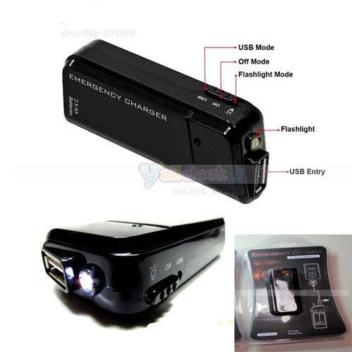 Batterie de secours USB 5V pour téléphone, tablette etc...
