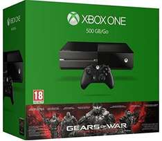 Console Xbox One 500Go + Gears Of War Ultimate Edition