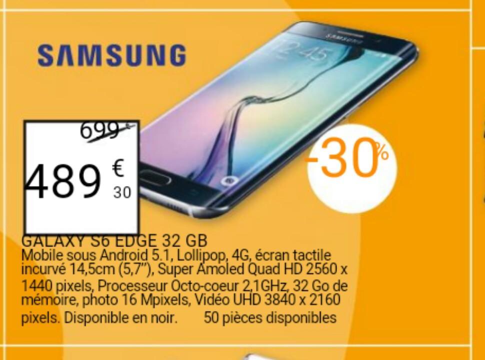 "Smartphone 5.7"" Samsung Galaxy Edge 6 32Go"