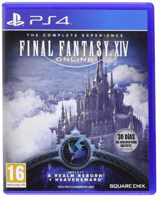 Jeu Final Fantasy XIV sur PS4 - The complete experience (Jeu + Extension)