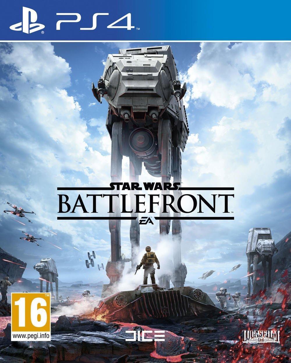 Star Wars Battlefront sur PS4 (via ODR 6€)