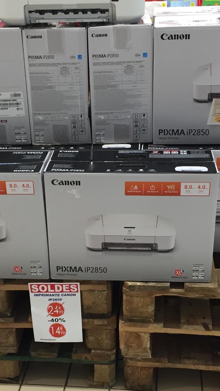 Imprimante Canon Pixma IP2850 - Jet d'encres couleur