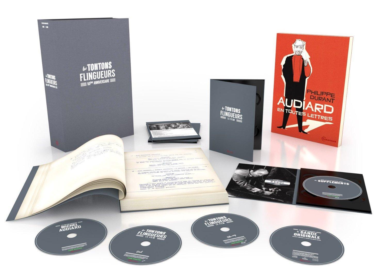 Coffret Blu-ray Les Tontons flingueurs - Édition 50ème Anniversaire Blu-Ray + DVD + Livre inédit + Scénario original