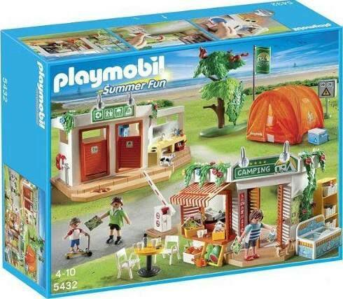Playmobil Summer Fun Camping n°5432