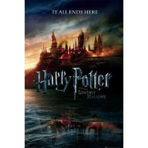 Poster Harry Potter 7 et Les Reliques de La Mort Teaser 91 X 61 cm (3.99€ de frais de port)