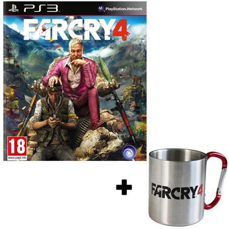 Jeu Far Cry 4 sur PS3 ou Xbox One + Mug Far Cry 4