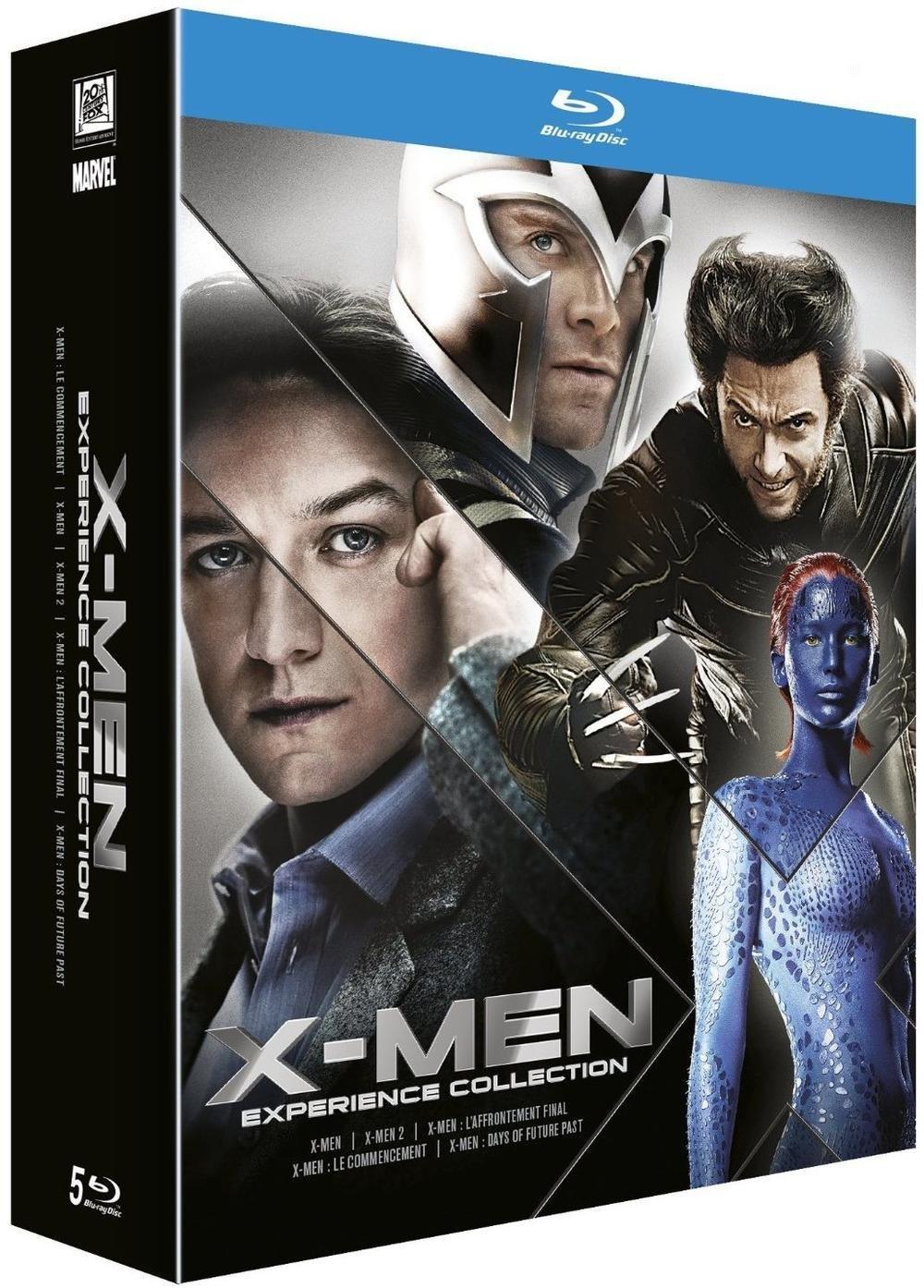 Coffret Blu-ray : X-men expérience Collection
