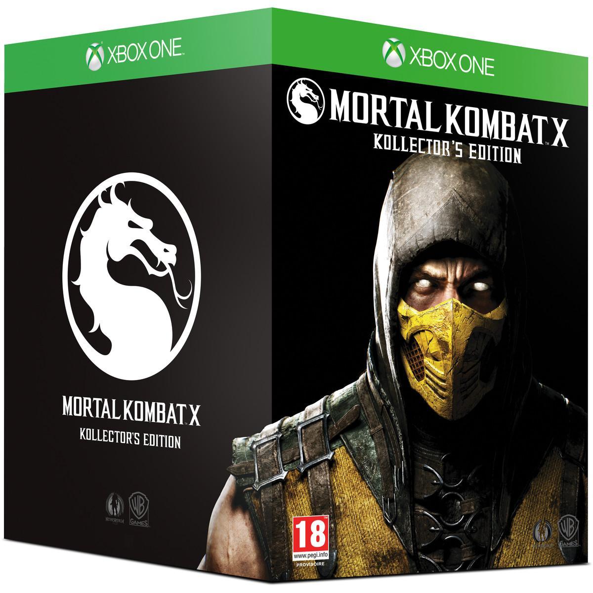 Mortal Kombat X Edition Kollector sur Xbox One
