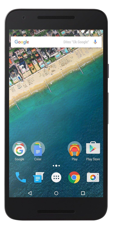 """Smartphone 5.2"""" LG Nexus 5X Quartz 16Go"""