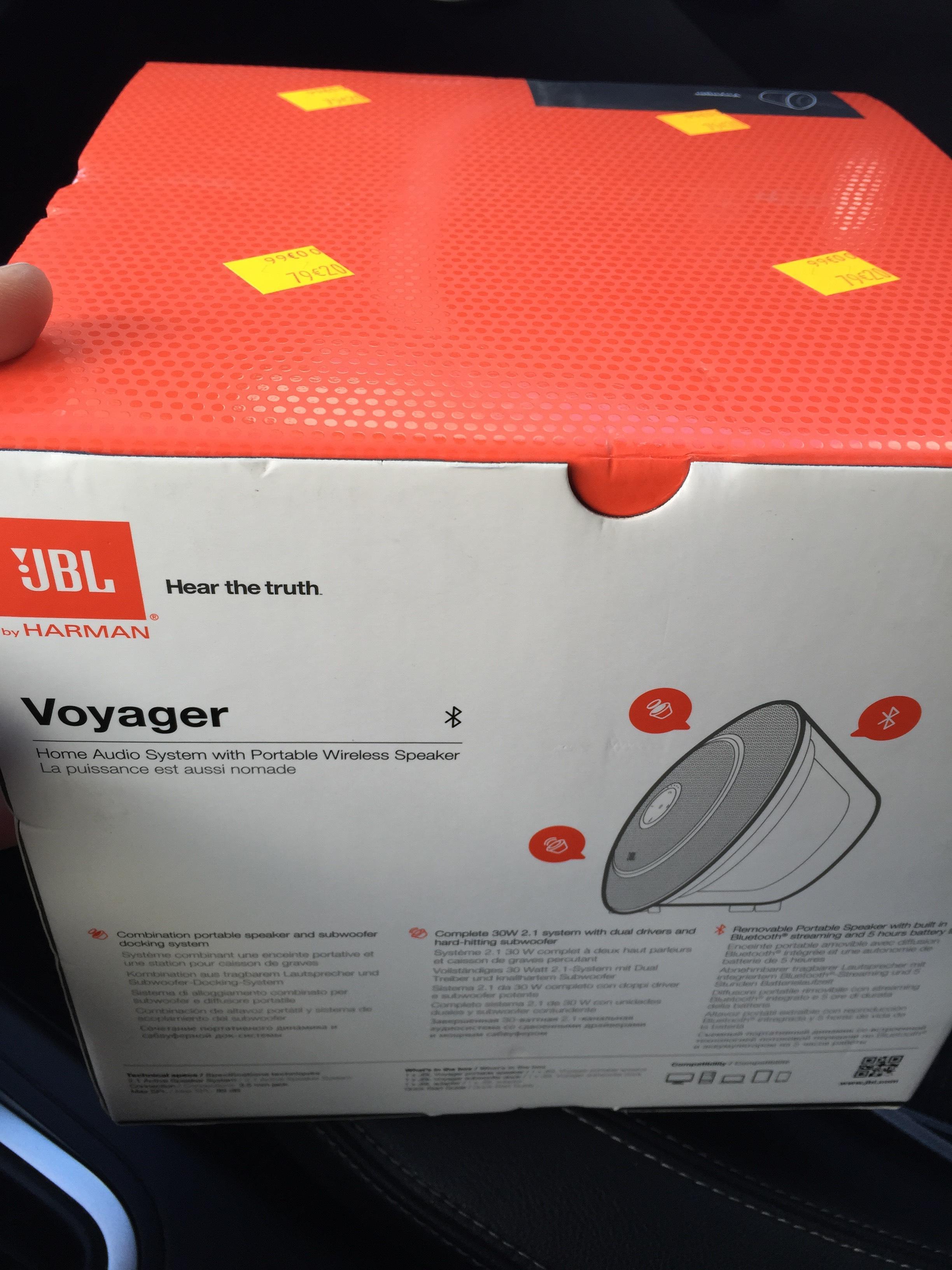 Enceinte sans fil JBL Voyager