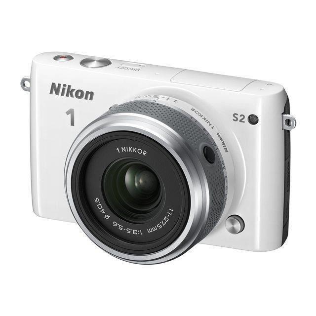 Appareil photo Hybride Nikon1 S2 + Objectif Nikkor 11–27.5mm f/3.5–5