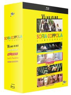 Coffret Blu-ray : Sofia Coppola, l'intégrale 5 films  -  The Bling Ring + Somewhere + Marie-Antoinette + Lost in Translation + The Virgin Suicides