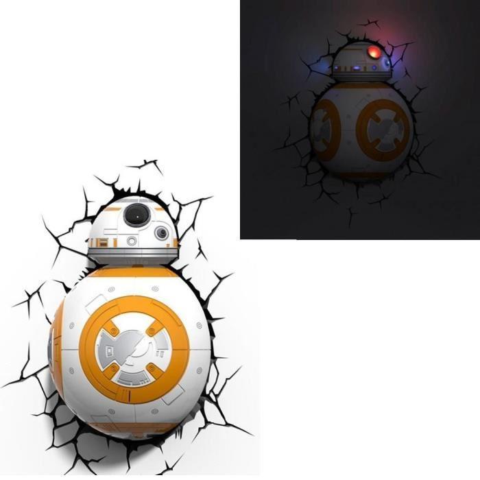 Lampe Décorative 3D Star Wars VII BB-8