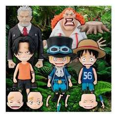Sélection de Figurines en promo - Ex :  Figurines One Piece Cry Heart - Children's dream