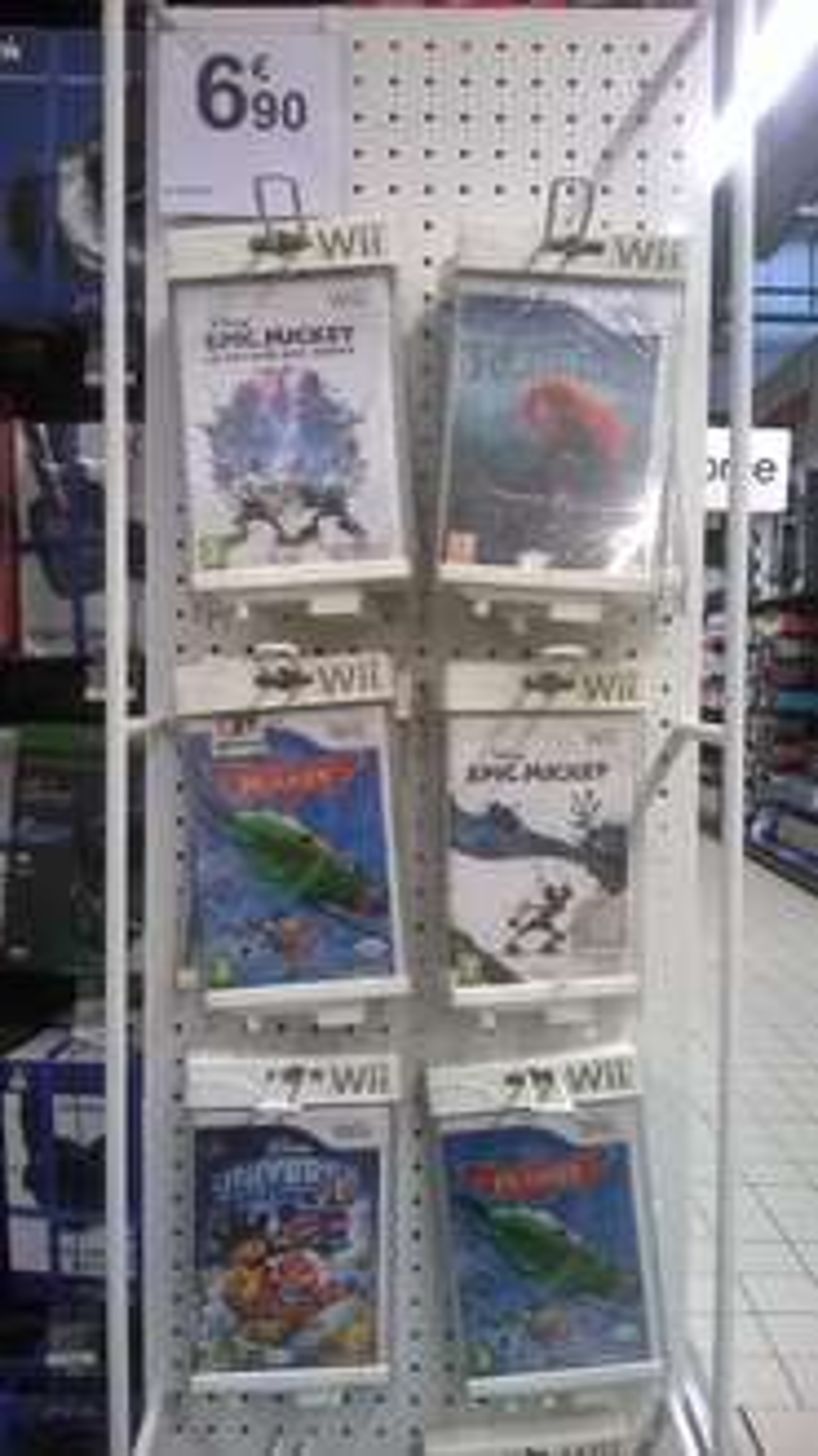 Jeux Disney (Epic Mickey...) sur Wii