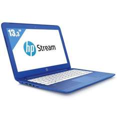 "PC Portable 13.3"" HP Stream 13-C100NF (Intel Celeron N3050, eMMC 32 Go, RAM 2 Go, Intel HD Graphics) - Bleu cobalt"