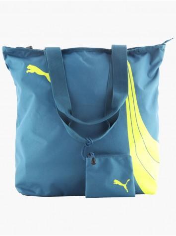 Sac cabas sport Puma avec pochette amovible - Bleu