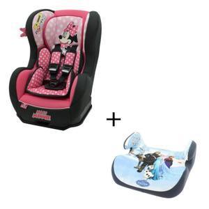Siège-auto Disney Cosmo Sp Minnie + Rehausseur La Reine des Neiges