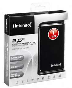 "Disque dur externe 3,5"" Intenso Memory Center 1 To (USB 2.0) - Noir"