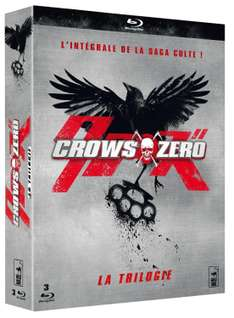 Coffret Blu-ray Crows Zero - Trilogie