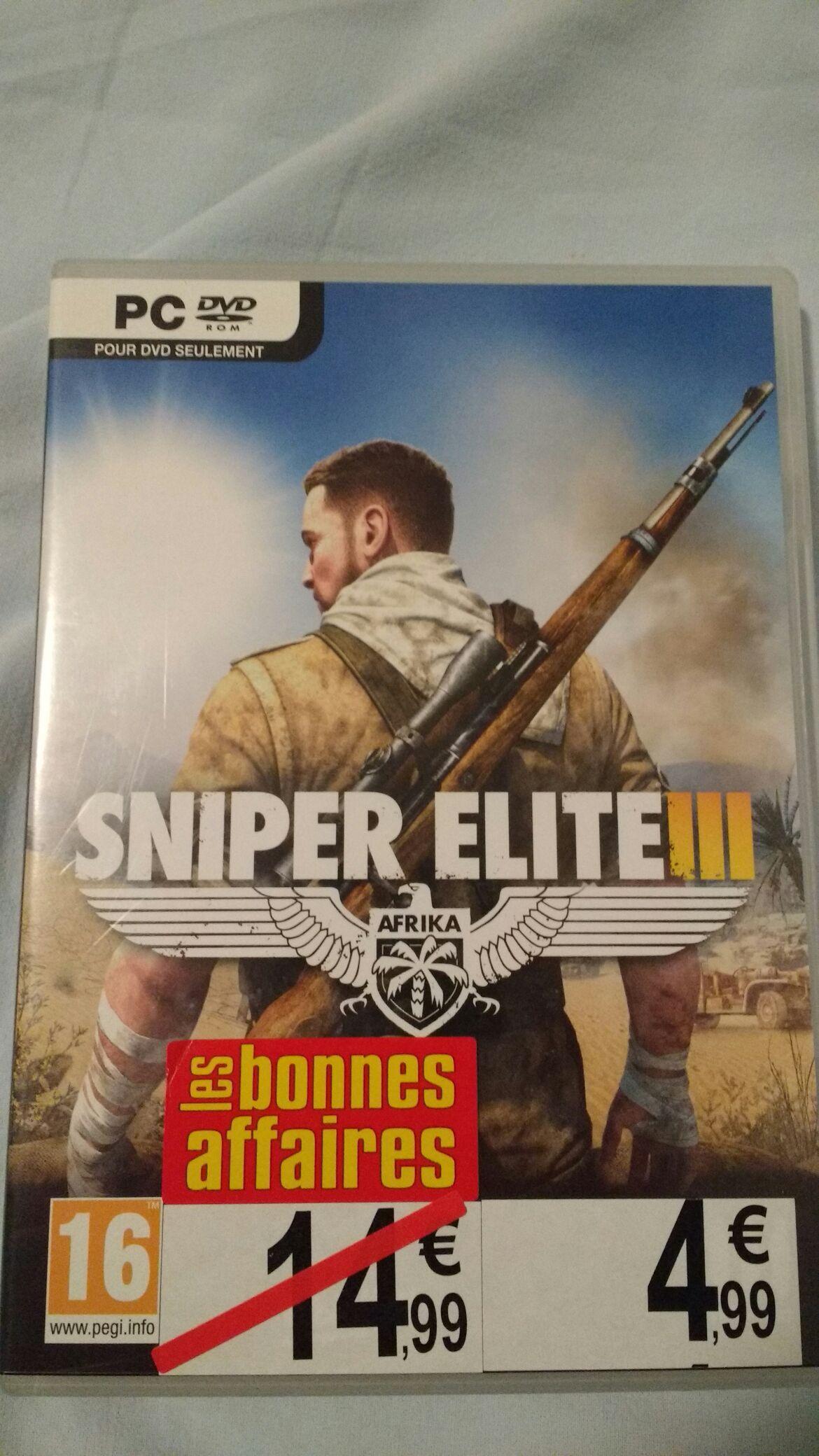 Sniper Elite 3 sur PC (version boite)