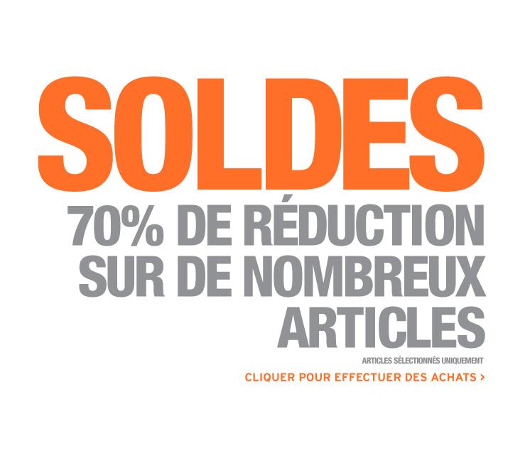 Soldes : Jusqu'à -70% de réduction sur sélection + Port gratuit