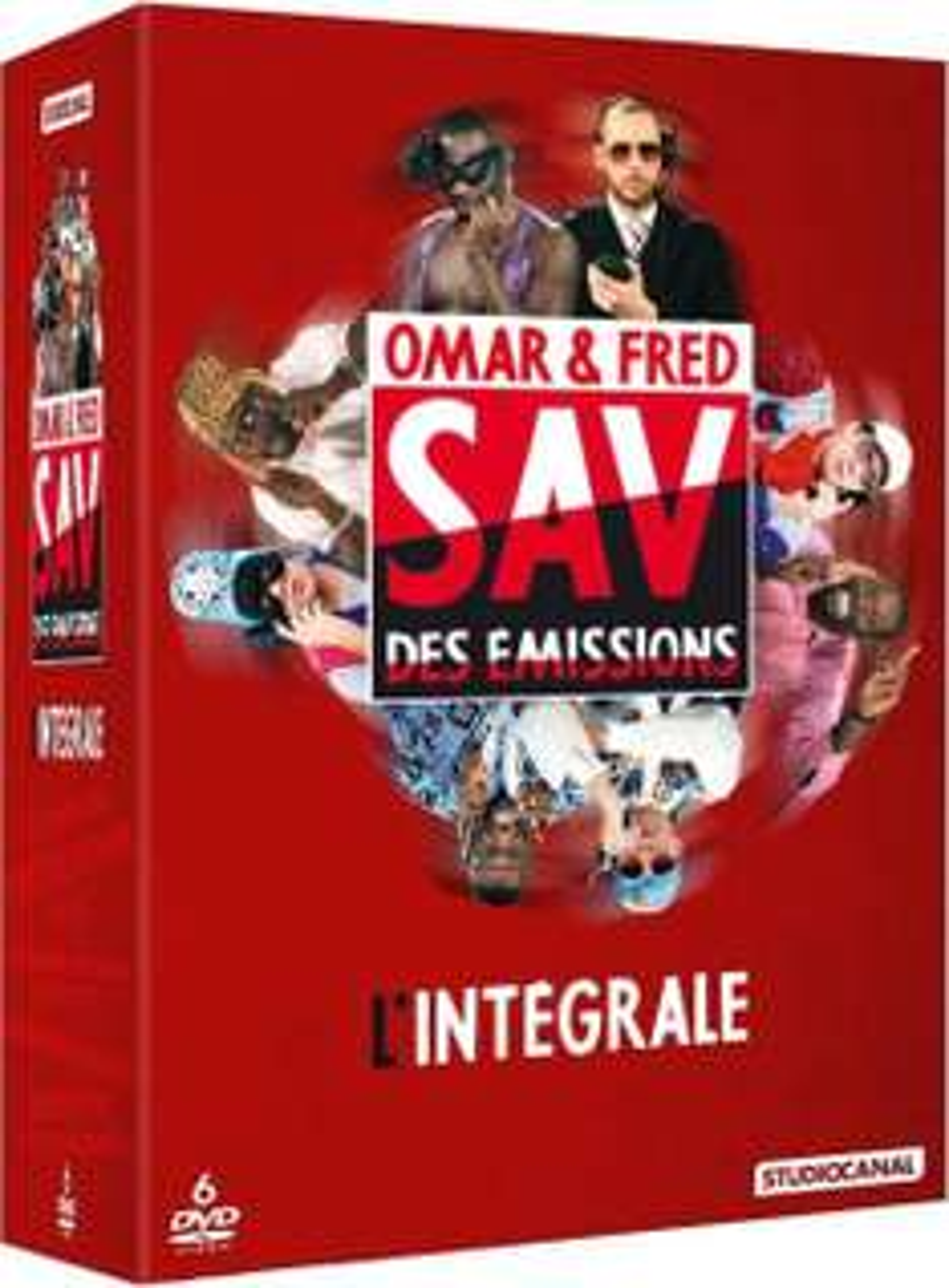 Coffret DVD : Omar & Fred - SAV des émissions saisons 1 à 6