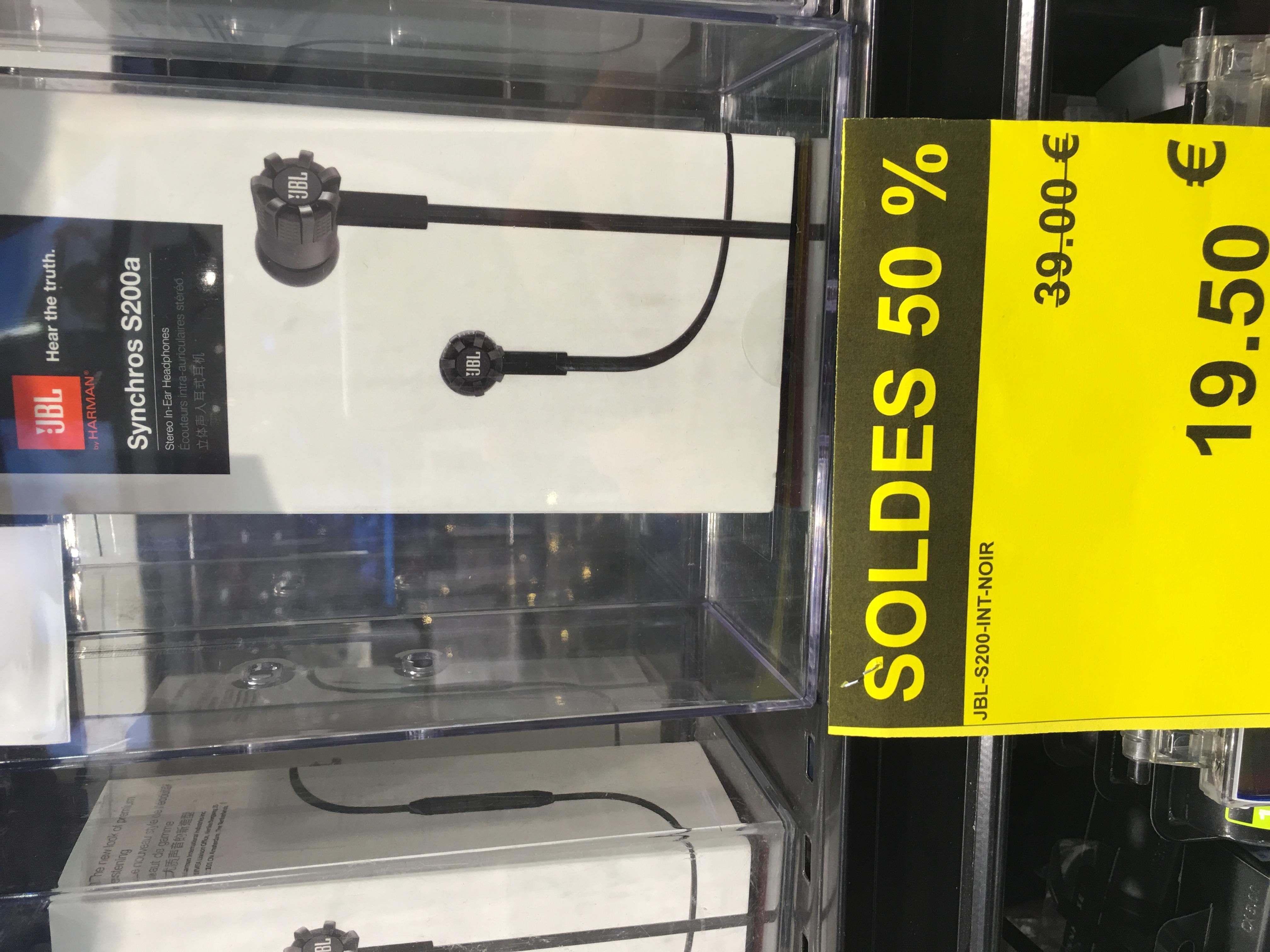 Écouteur JBL Synchros S200a