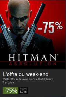 Hitman Absolution & Hitman Collection -75%