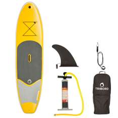 Stand Up Paddle (Sup) Tribord Gonflable 9'8 Jaune