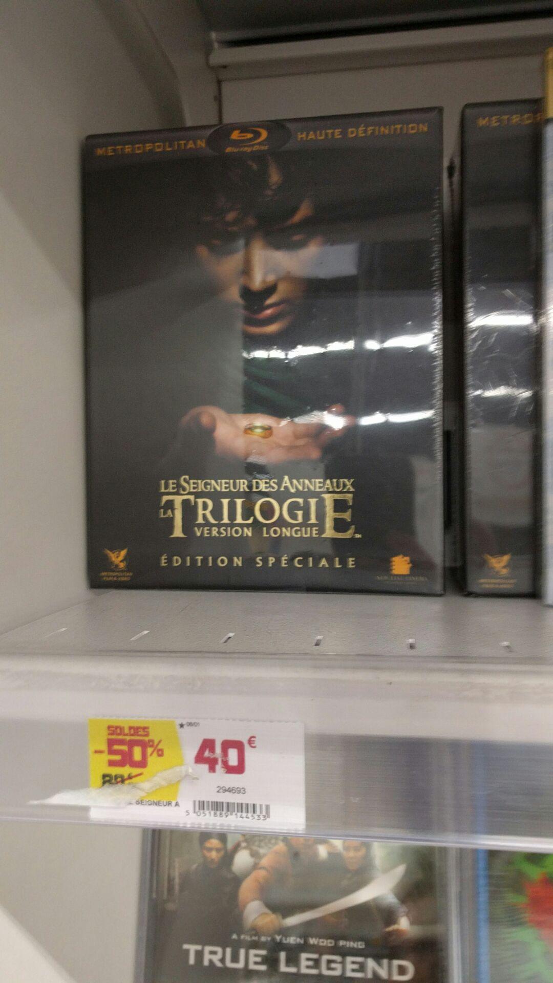 Coffret Blu -ray Trilogie Le Seigneur des Anneaux - Version longue