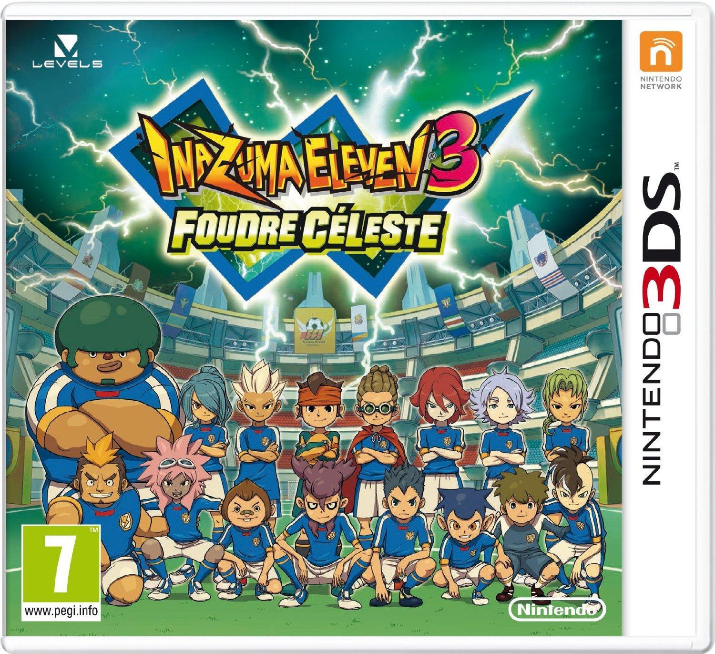 Jeu Inazuma Eleven 3 : Foudre Céleste sur 3DS