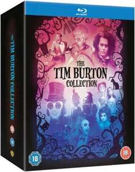 Coffret Blu-ray : The Tim Burton Collection
