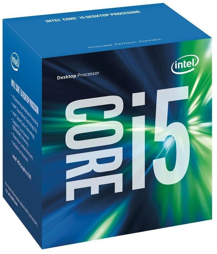 Processeur Intel I5-6600 (Socket FCLGA1151, Quad-Core, 3.3 GHz, 6 MB Cache)
