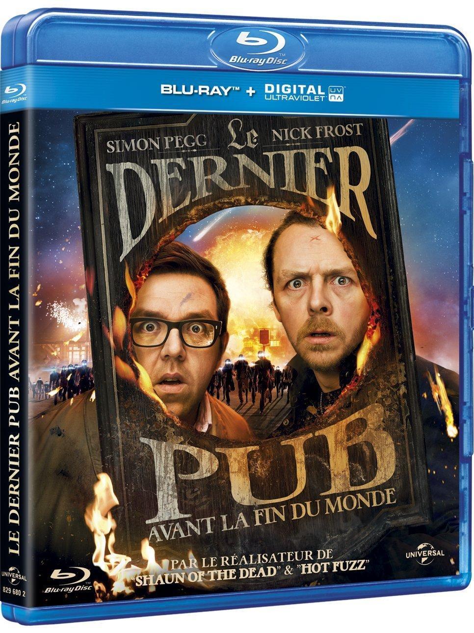 Blu-ray Le Dernier pub avant la fin du monde