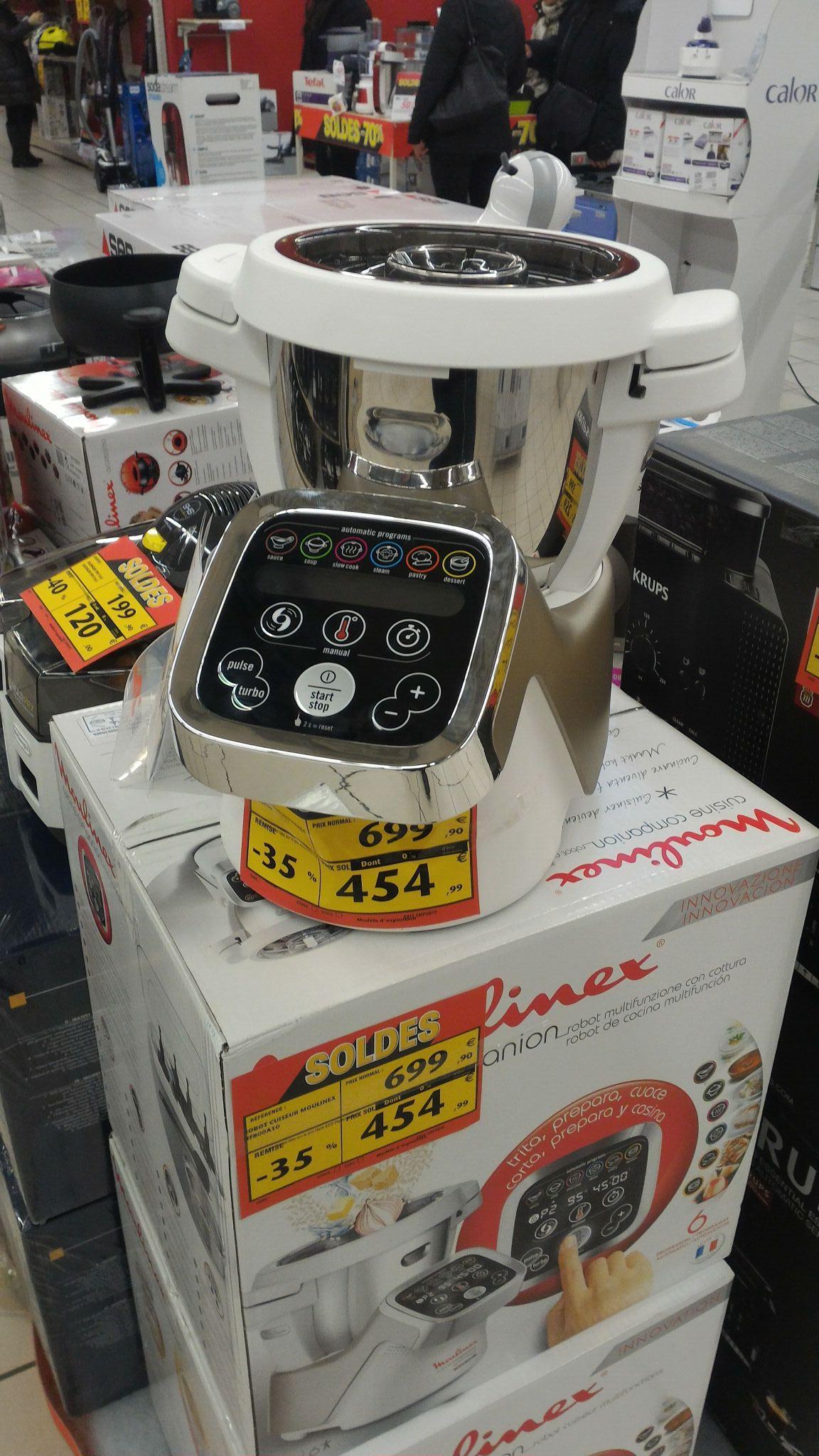 Robot cuiseur multifonction Moulinex Cuisine Companion