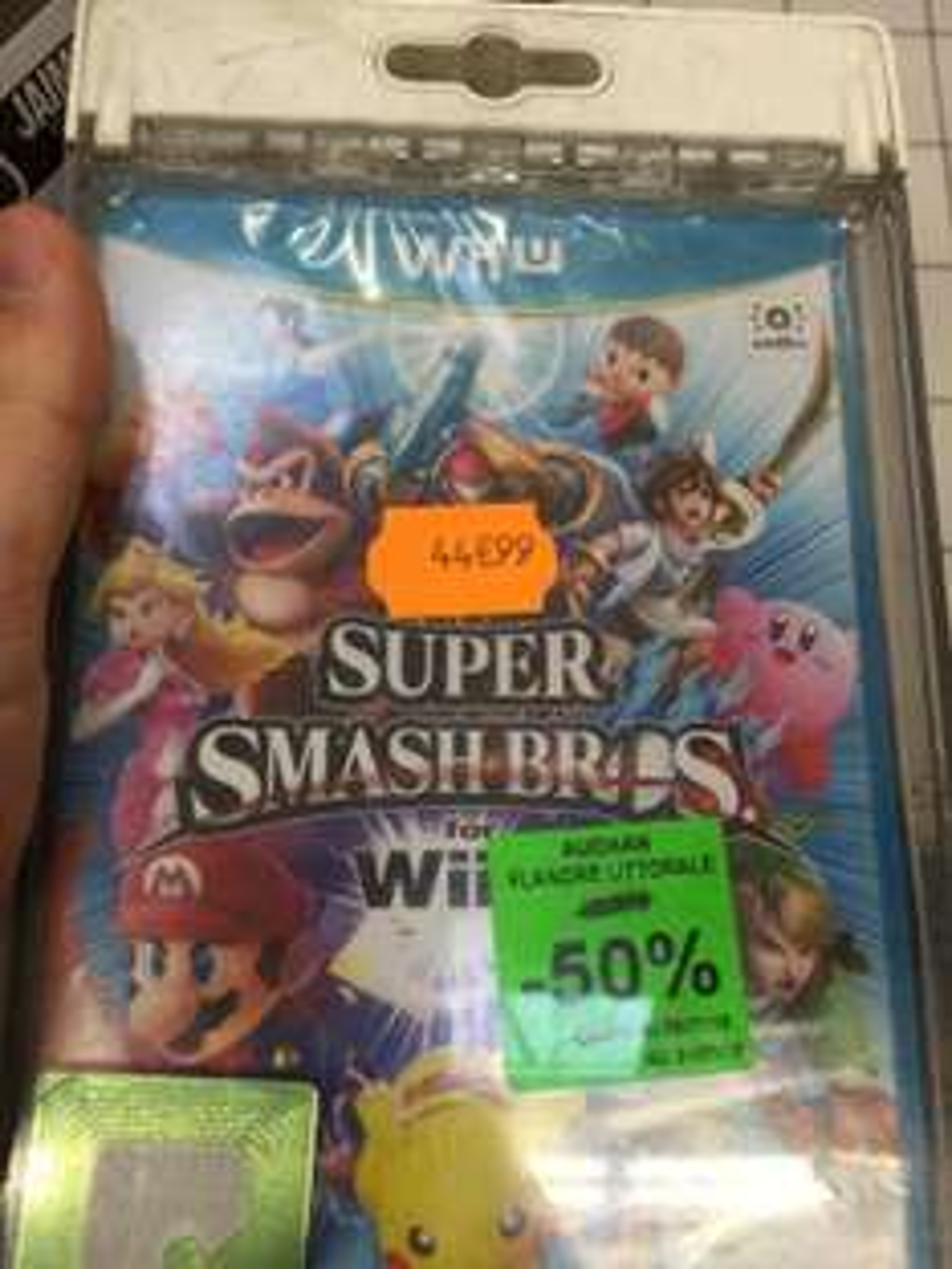 Jeu Super Smash Bros sur Wii U