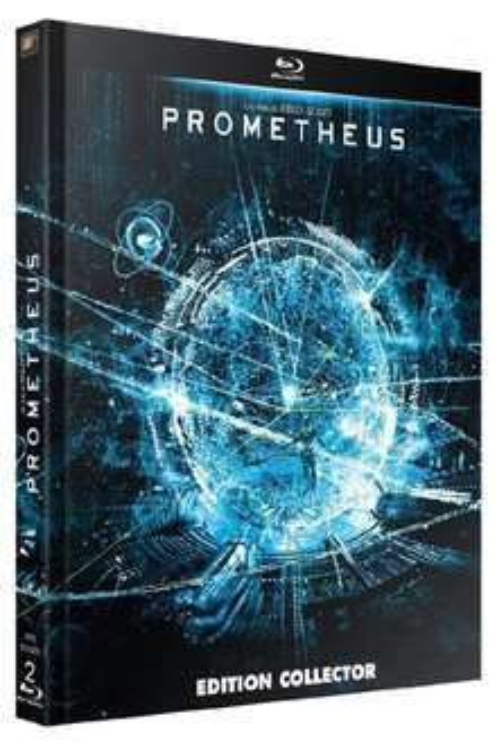 Blu-ray Prometheus Edition Digibook Collector + Livret