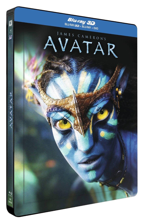 Blu-ray 3D + DVD : Avatar - Édition boîtier SteelBook