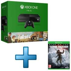 Console Microsoft Xbox One 1 To + Fallout 4 + Fallout 3 + Rise of The Tomb Raid