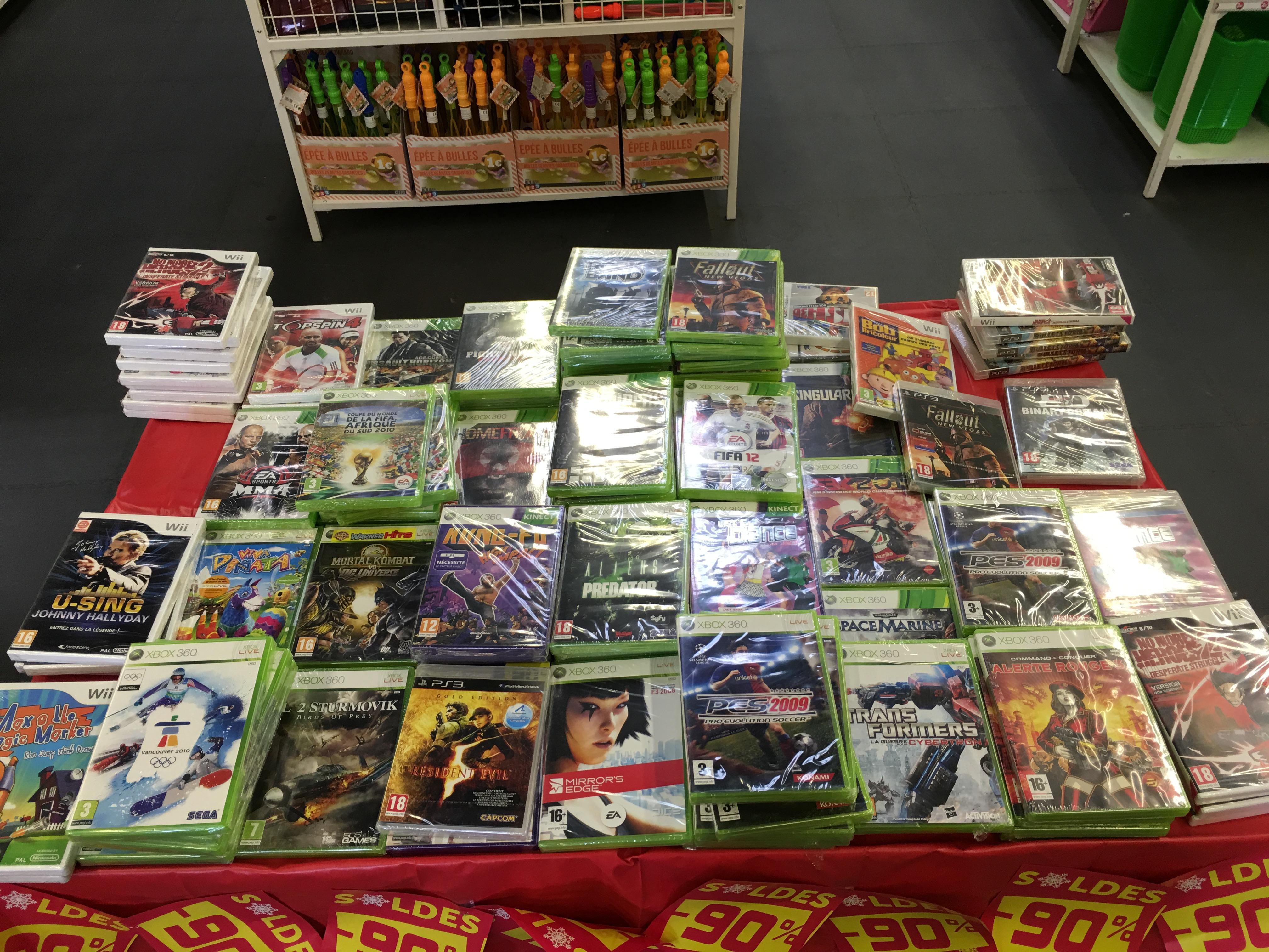 Sélection de jeux PS3 / Wii / Xbox 360 / 3DS / DS