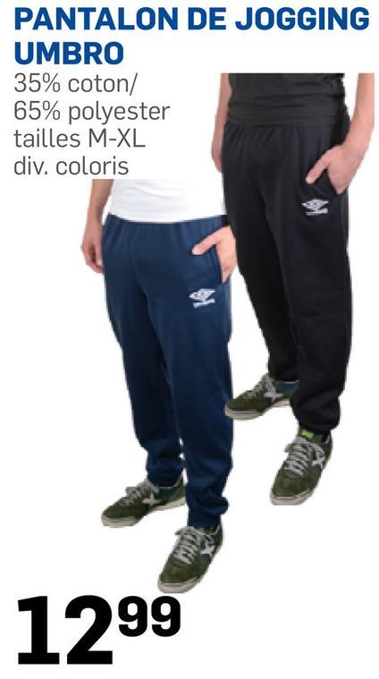 Pantalon de jogging Umbro - Plusieurs coloris, Tailles M à XL
