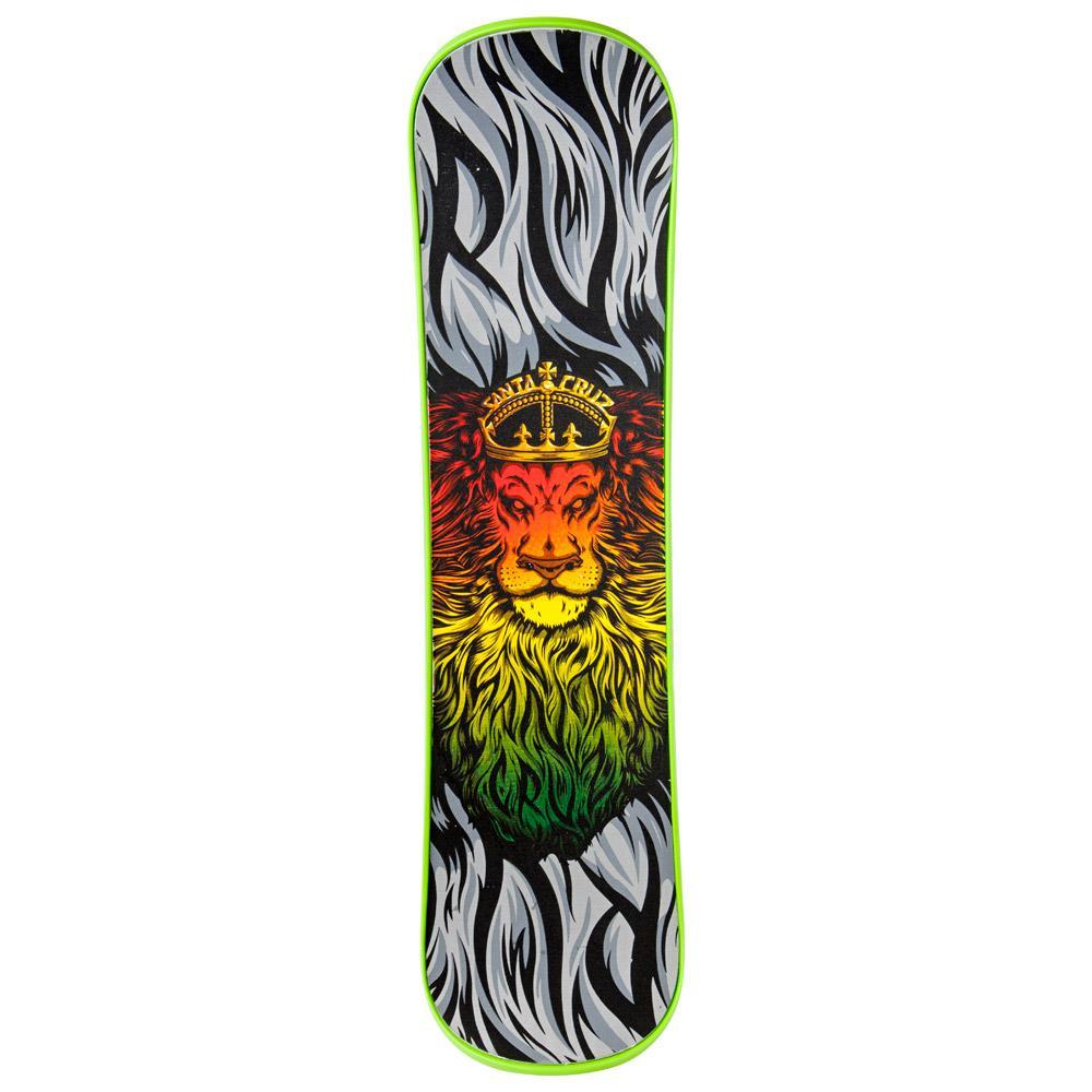snowskate Santa Cruz - Lion God Green
