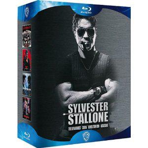 Sylvester Stallone - Coffret - The Expendables + Cobra + Demolition Man + Assassins [Blu-ray]