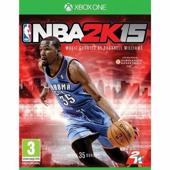 PES 2015 sur Xbox One à 5.99€ et NBA 2K15 sur Xbox One