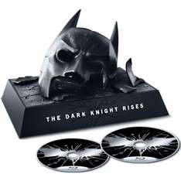 The Dark Knight Rises Bat Cowl - Limited Edition Premium Pack Blu-ray