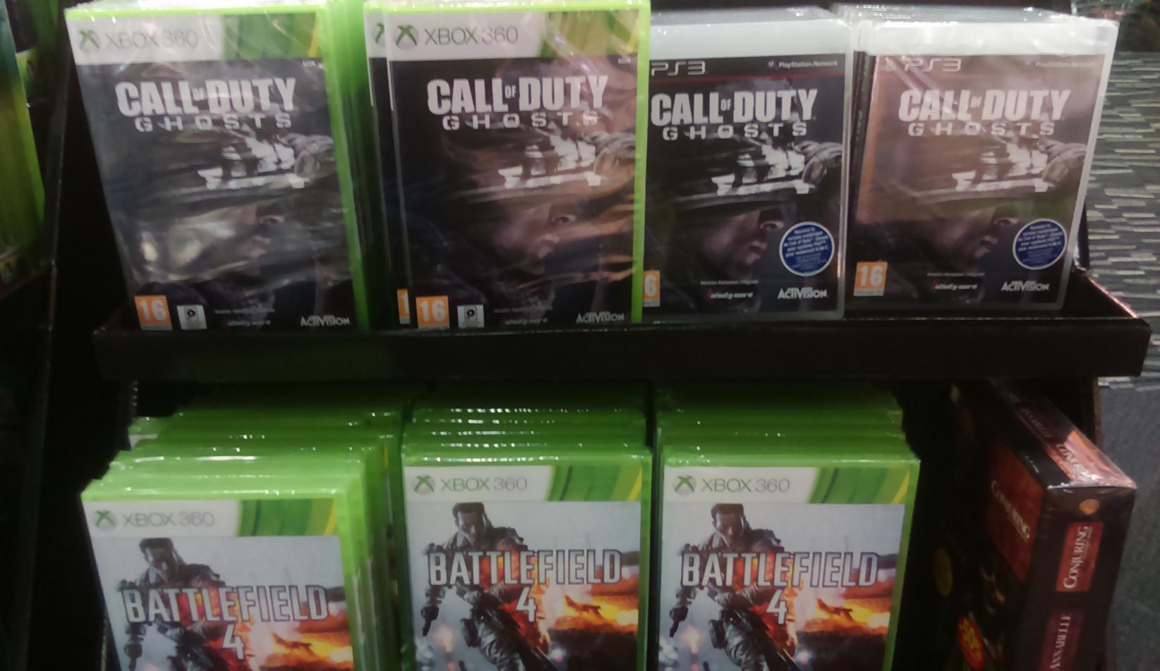 Sélection de jeux et packs consoles Xbox 360 et PS3 en promotion - Ex : Battlefield 4 sur Xbox 360