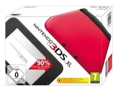 Console Nintendo 3DS XL - Rouge