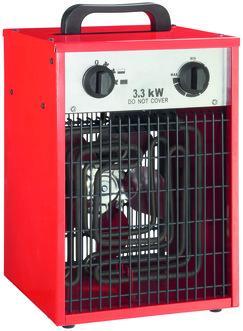 Chauffage soufflants de chantier - 3 300 W